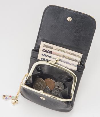 印伝七福字円萬財布 手のひら財布