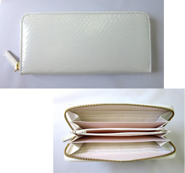 白蛇金運財布 使いやすいラウンド財布